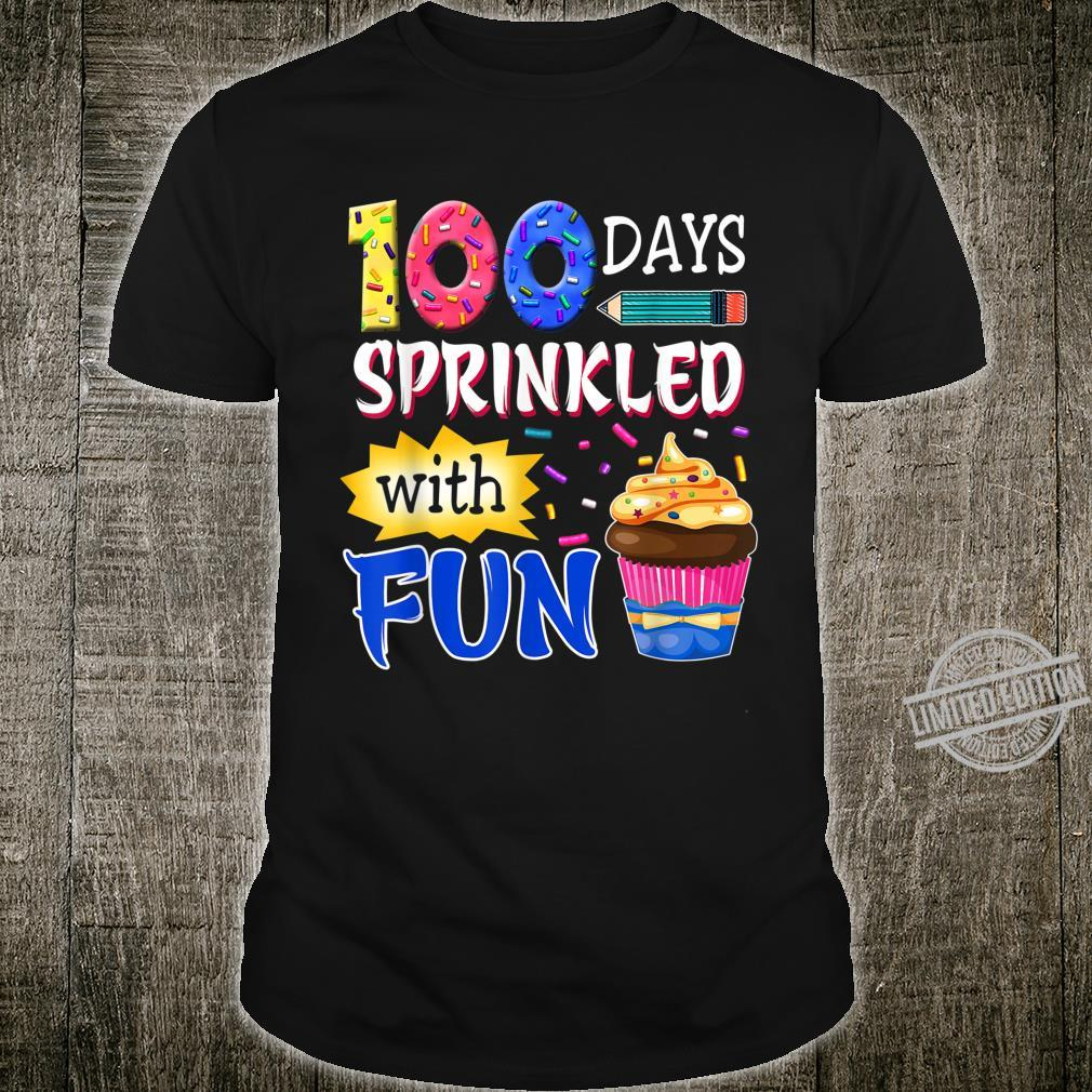 100 Days Sprinkled With Fun Of School Students Shirt