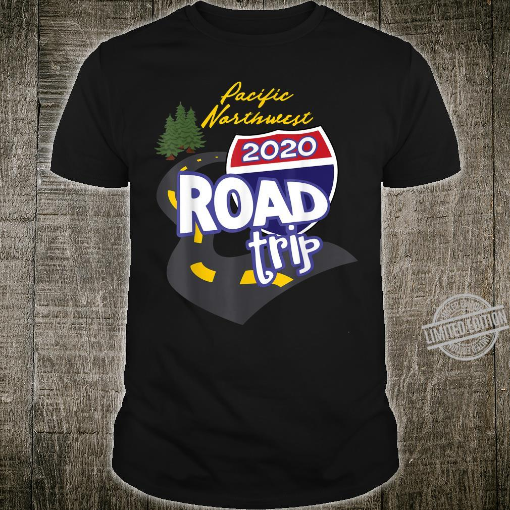 2020 Pacific Northwest Road Trip Shirt