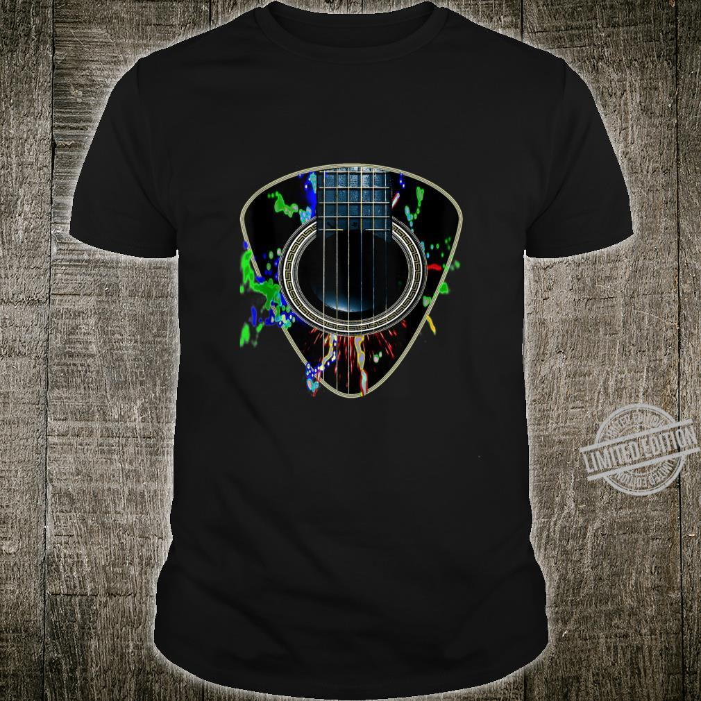 Acoustic Guitar Plectrum Musician Shirt