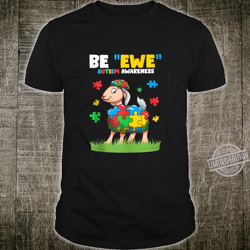Autism Awareness Be Ewe Autism Awareness Boys Shirt