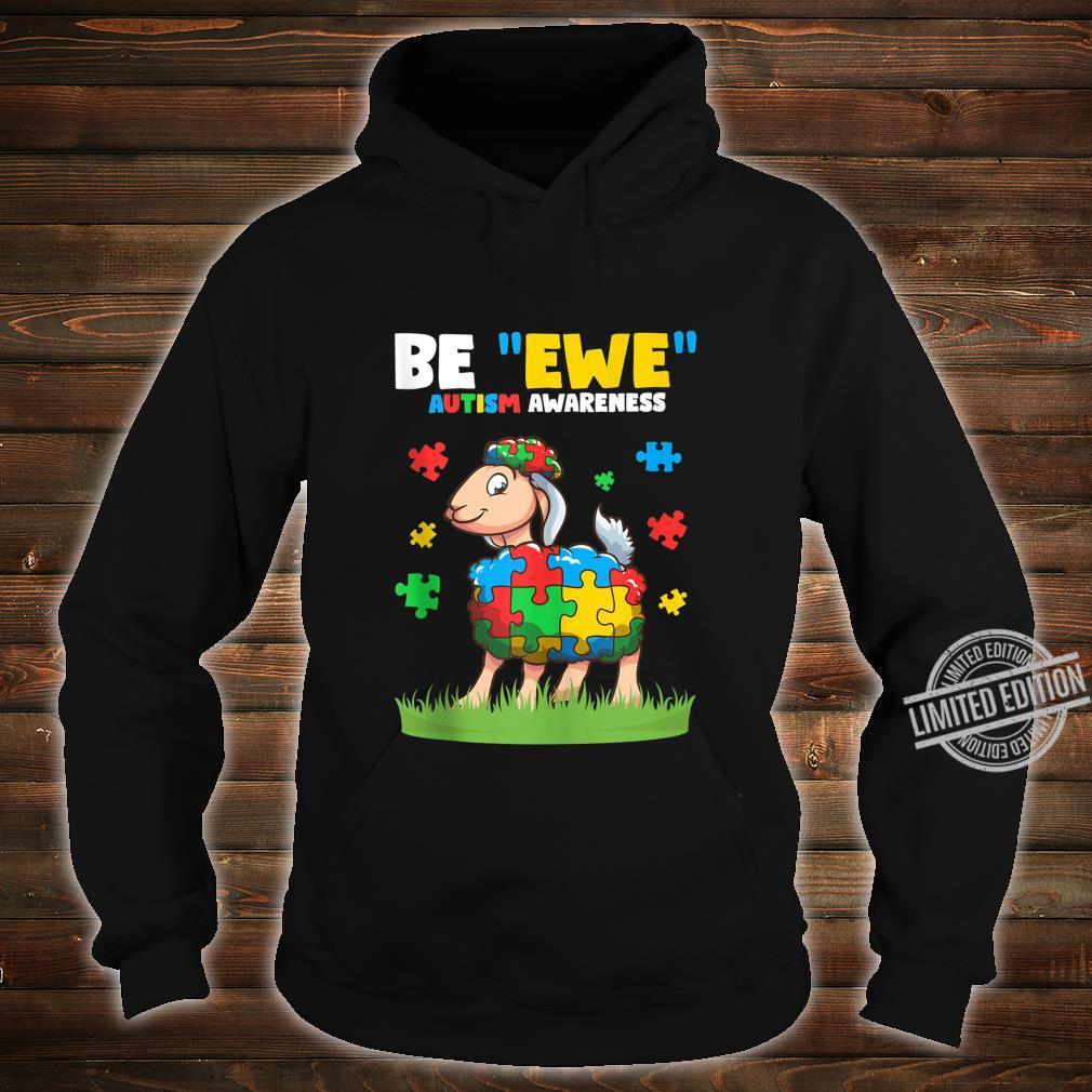 Autism Awareness Be Ewe Autism Awareness Boys Shirt hoodie
