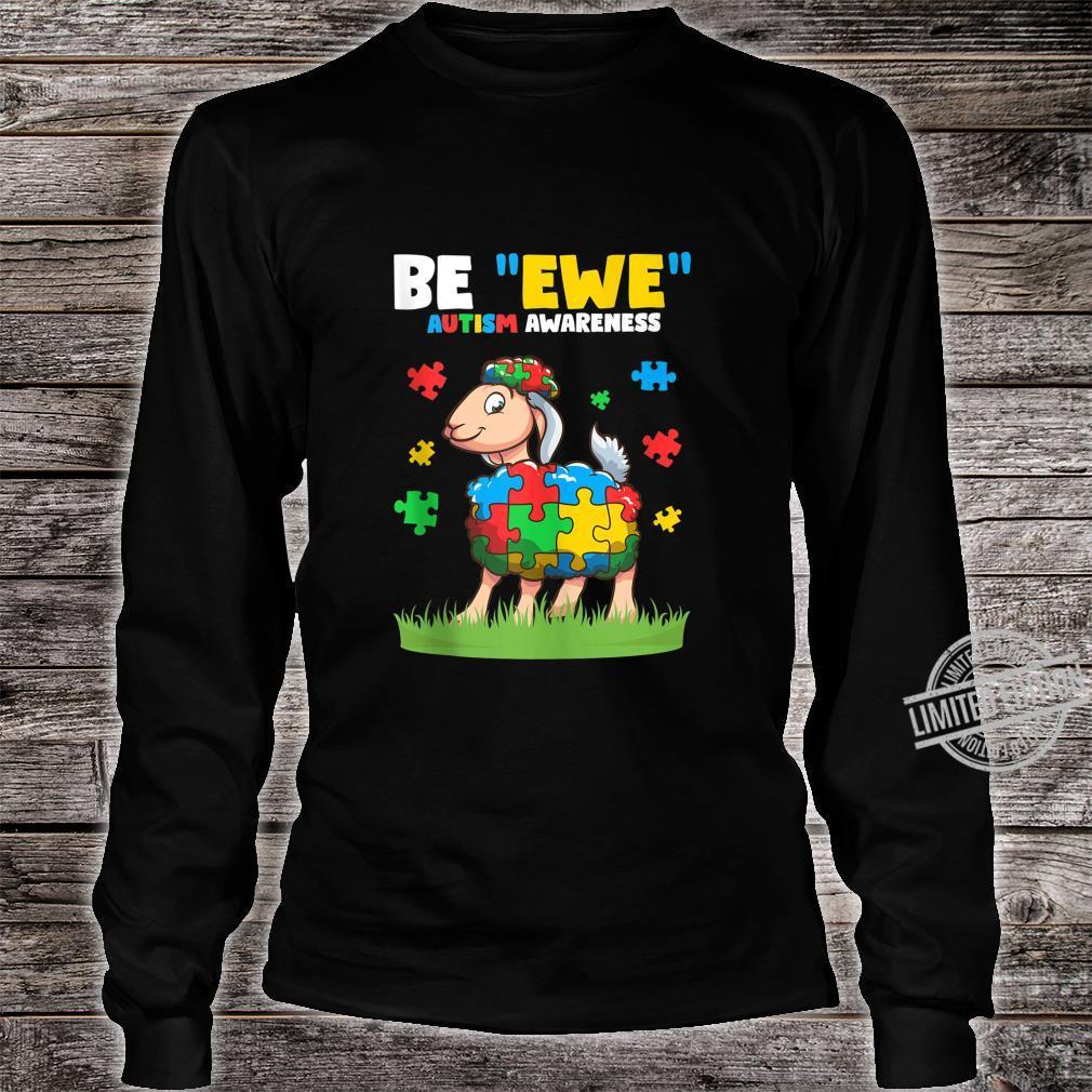 Autism Awareness Be Ewe Autism Awareness Boys Shirt long sleeved