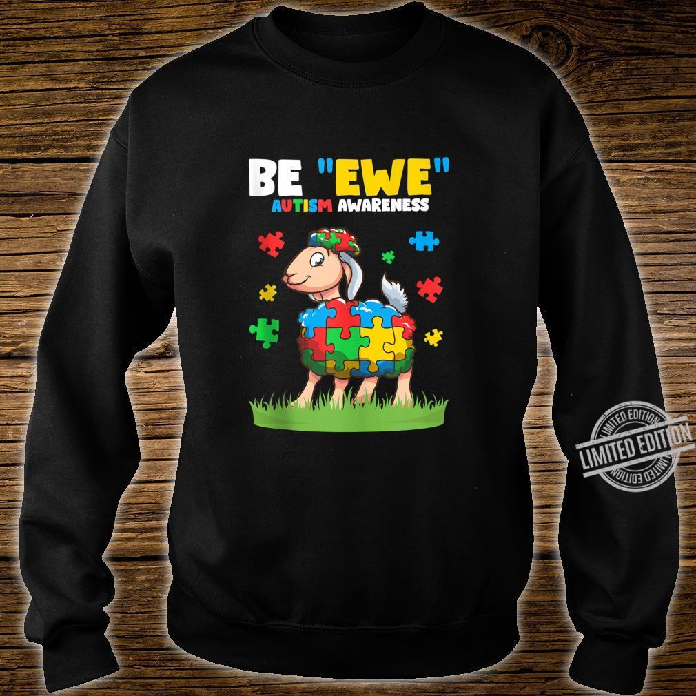 Autism Awareness Be Ewe Autism Awareness Boys Shirt sweater