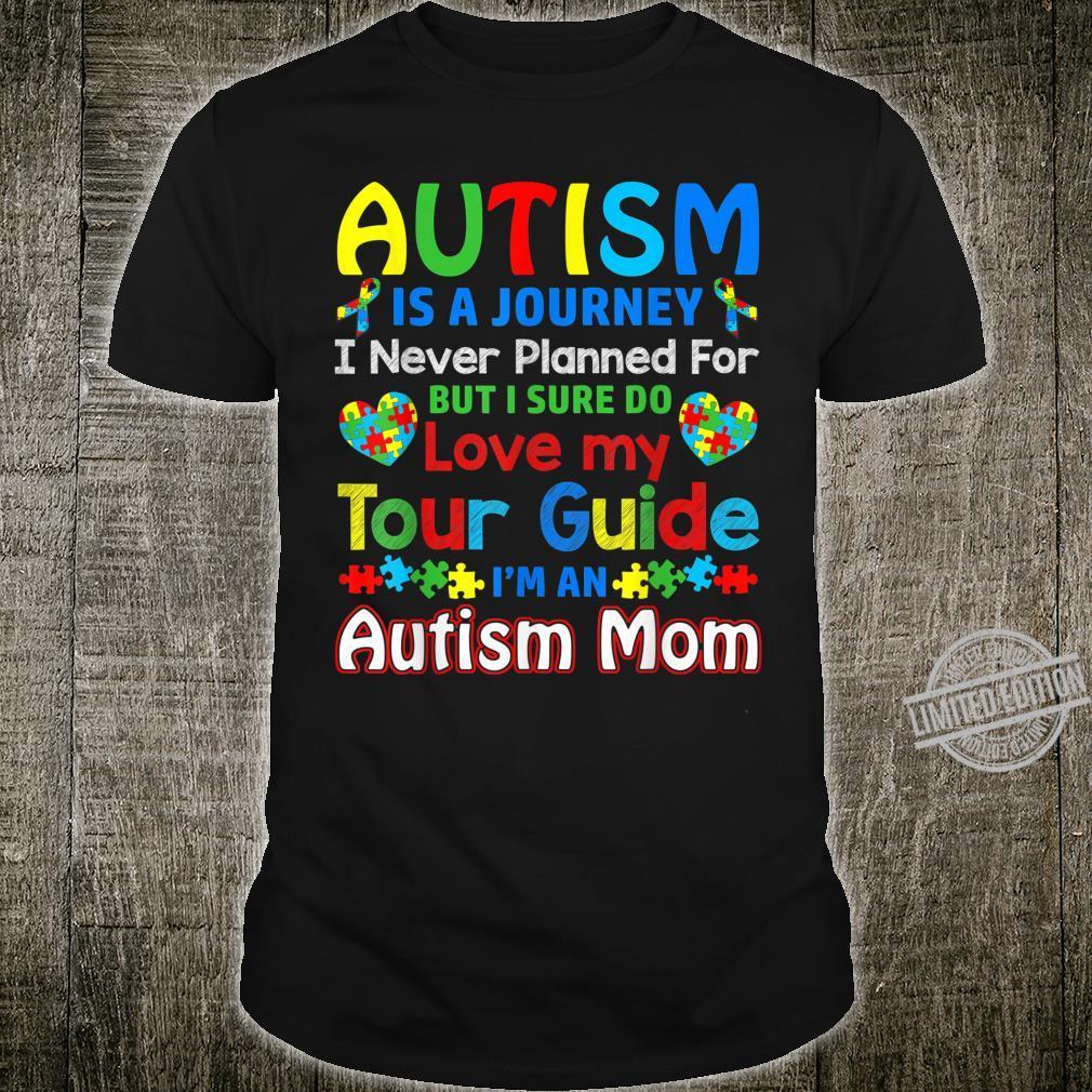 Autism Mom Shirt Autism Awareness Shirt Autism Is A Journey Shirt