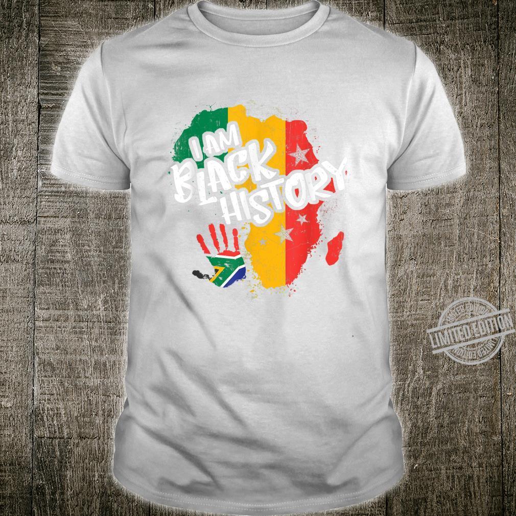 Black History Month Pride I Am Black History Shirt