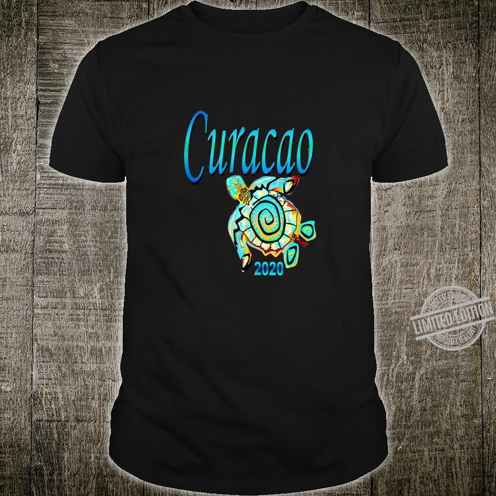 CURACAO TRIBAL TURTLE TRAVEL SOUVENIR VACATION Shirt