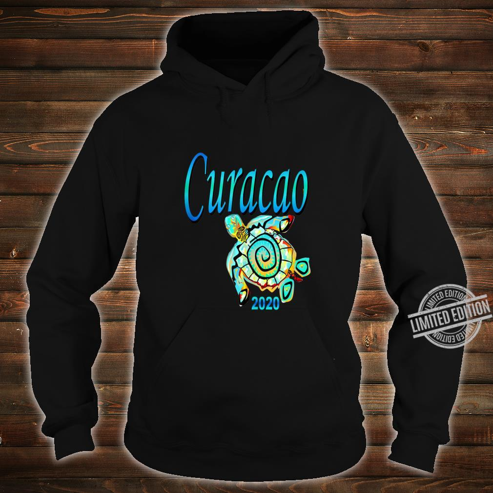 CURACAO TRIBAL TURTLE TRAVEL SOUVENIR VACATION Shirt hoodie