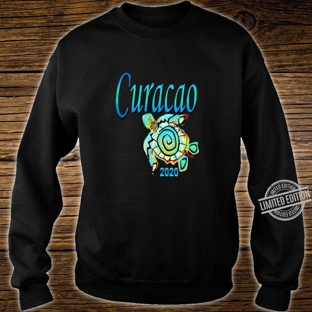 CURACAO TRIBAL TURTLE TRAVEL SOUVENIR VACATION Shirt sweater