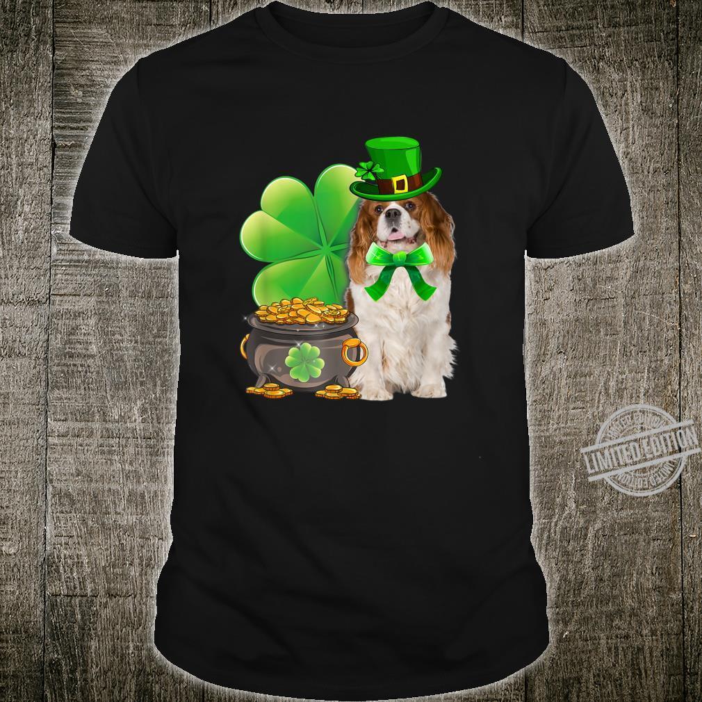 Cavalier King Charles Spaniel St Patricks Day Dog Irish Shirt