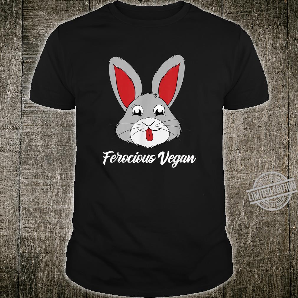 Comical Ladies Ferocious Vegan Shirt