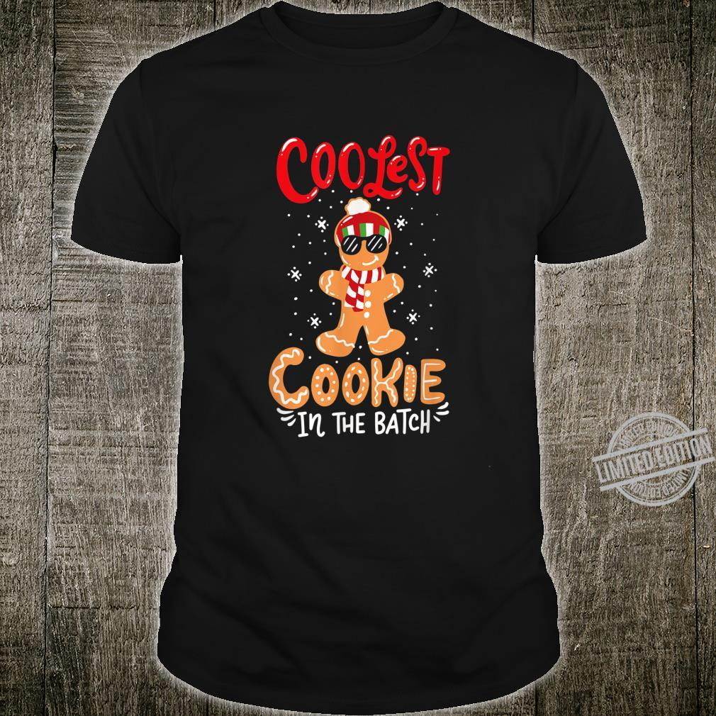 Coolest Cookie In The Batch Dabbing Gingerbread Man Costume Shirt