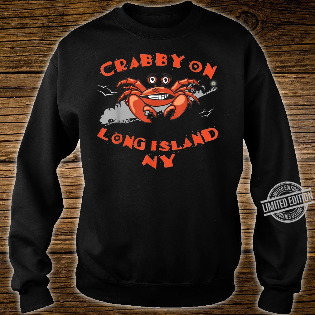 Crabby Crab On Long Island NYs Shirt sweater