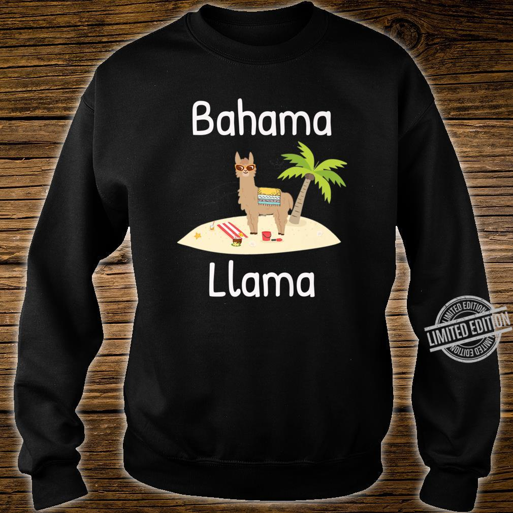 Cute Bahama Llama Vacation Wear for the Whole Family Shirt sweater