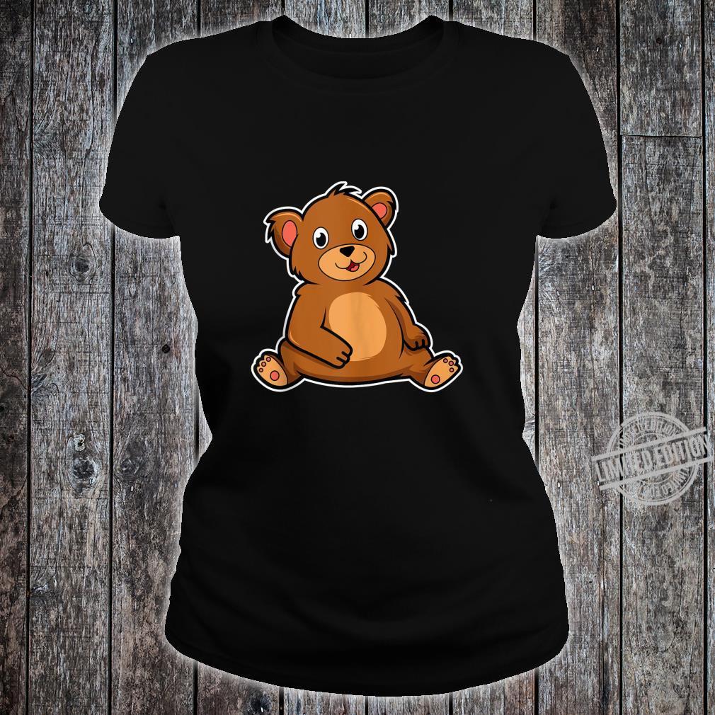 Cute Bear Shirt ladies tee
