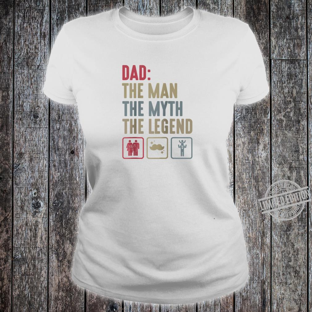 Dad Grandpa Fathers day Grandfather Dad Papa Shirt ladies tee
