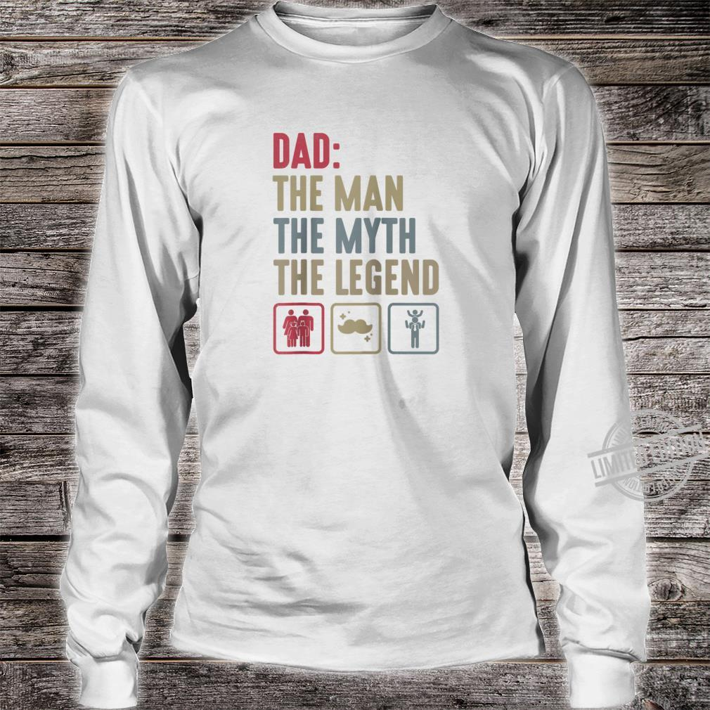 Dad Grandpa Fathers day Grandfather Dad Papa Shirt long sleeved
