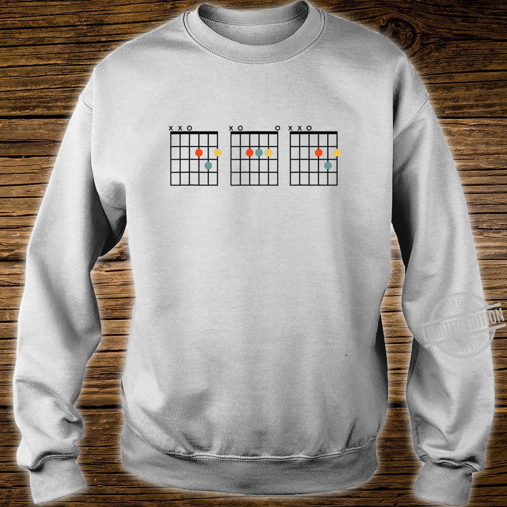 Dad Guitar Chord Musician Shirt sweater
