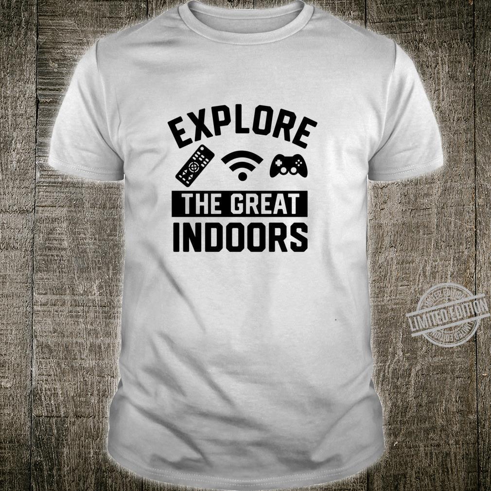 Das Große Drinnen Langarmshirt Shirt