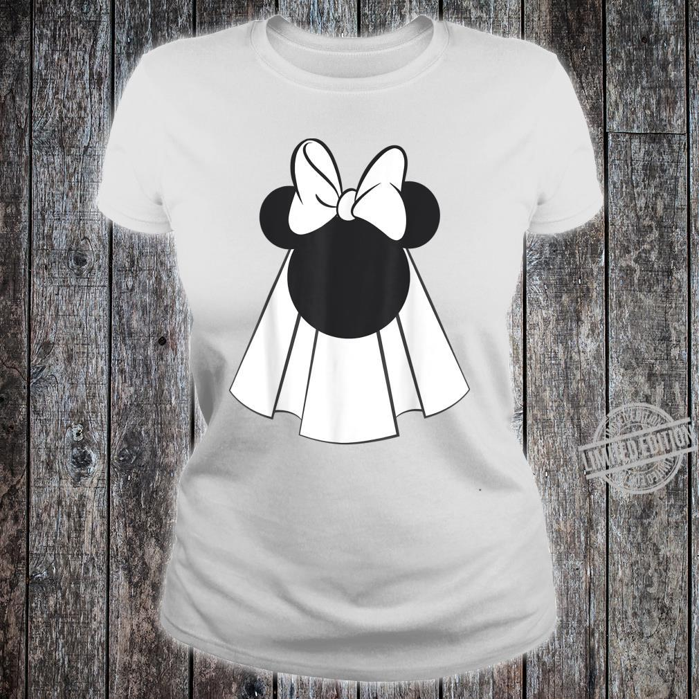 Disney Mickey And Friends Minnie Mouse Bride Shirt ladies tee