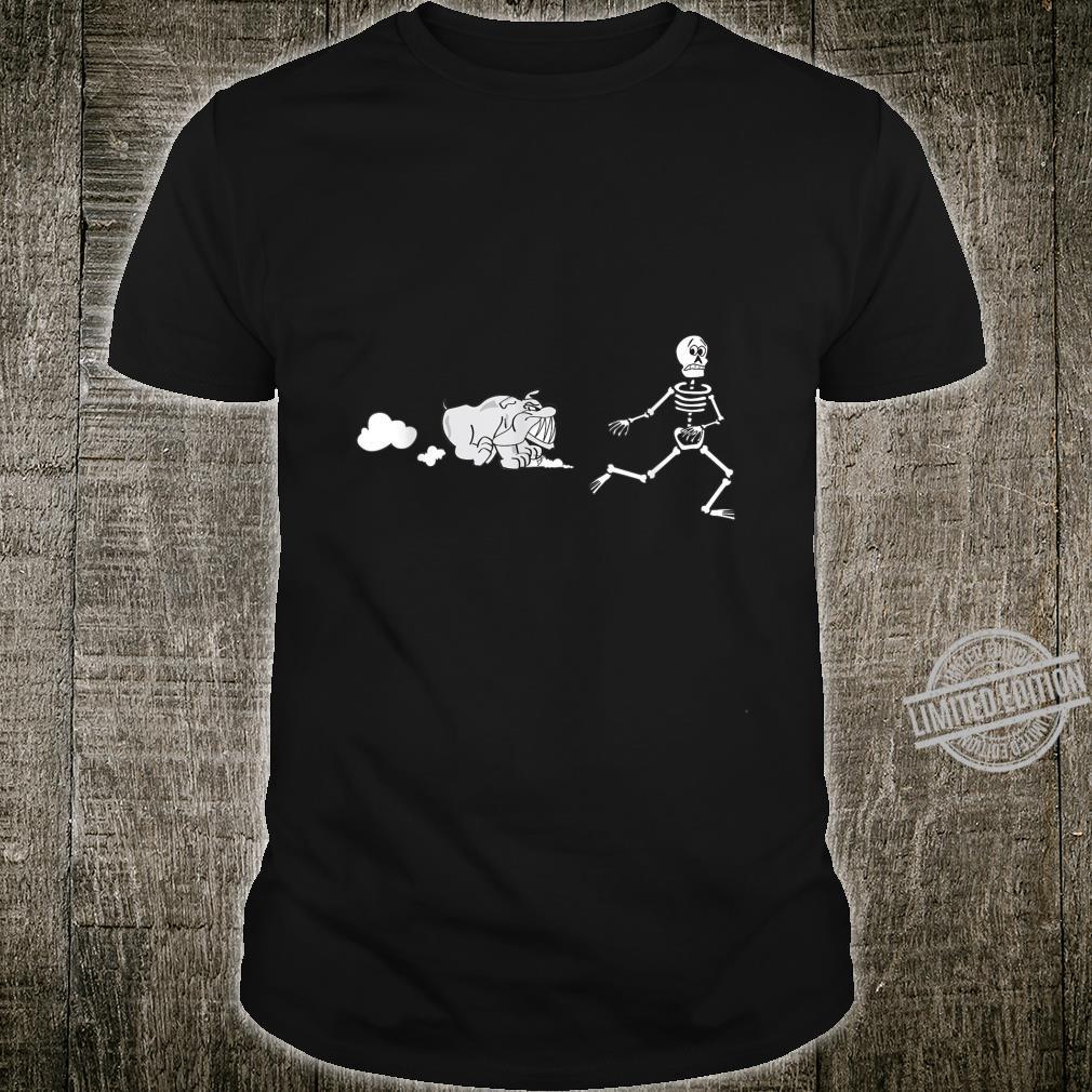 Dog Bones Bulldog Skeleton shirt Shirt