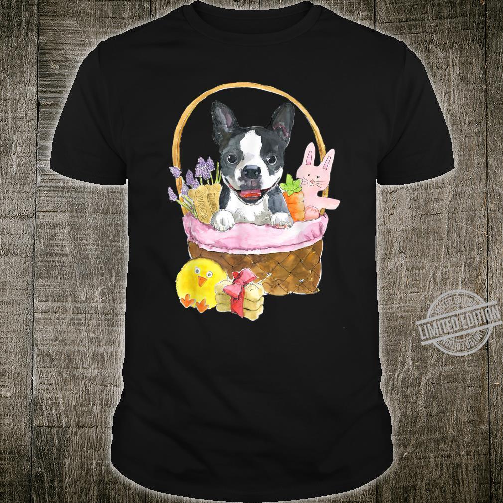 Dog Shirt Cutes Boston Terrier Bunny Ear Costume Rabbit Shirt