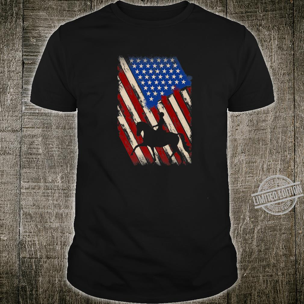 Equestrian Dressage Patriotic Shirt