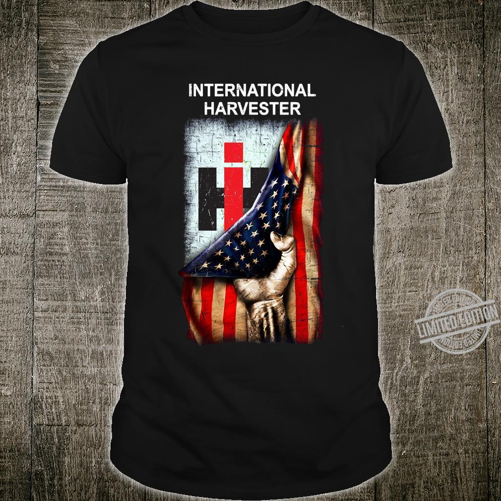 Flag american International harvester shirt