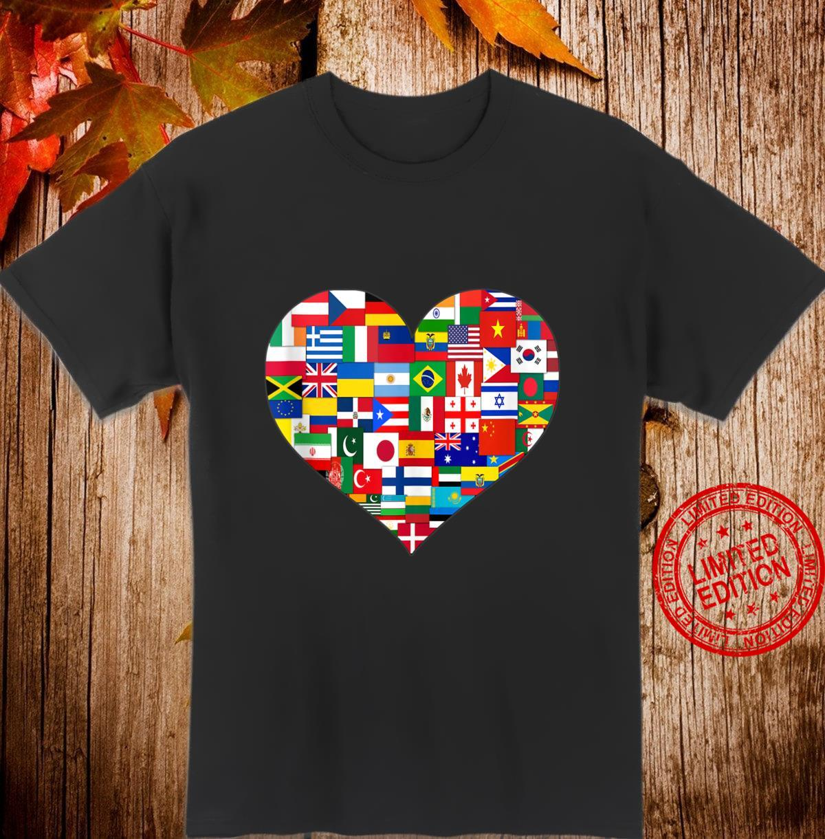 Flags of the Countries of the World,International Shirt