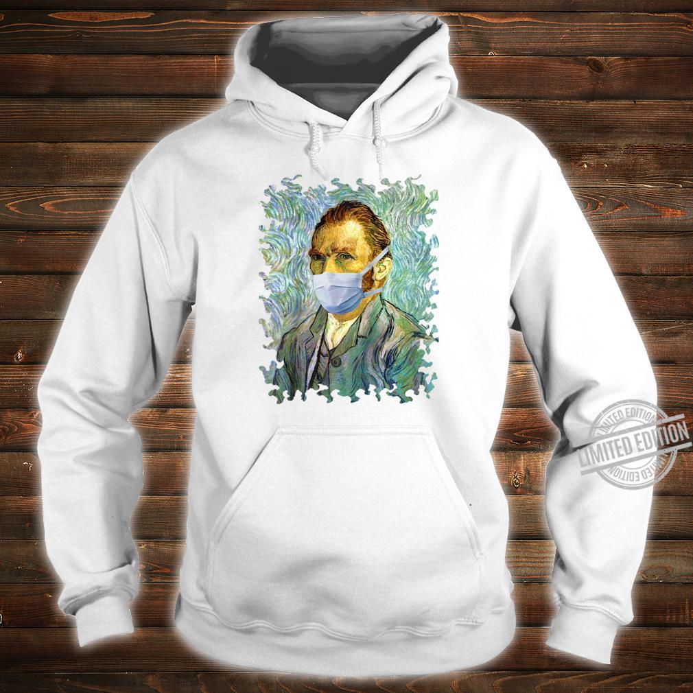 Funny Flu Season Van Gogh Self With Mask Spoof Shirt hoodie