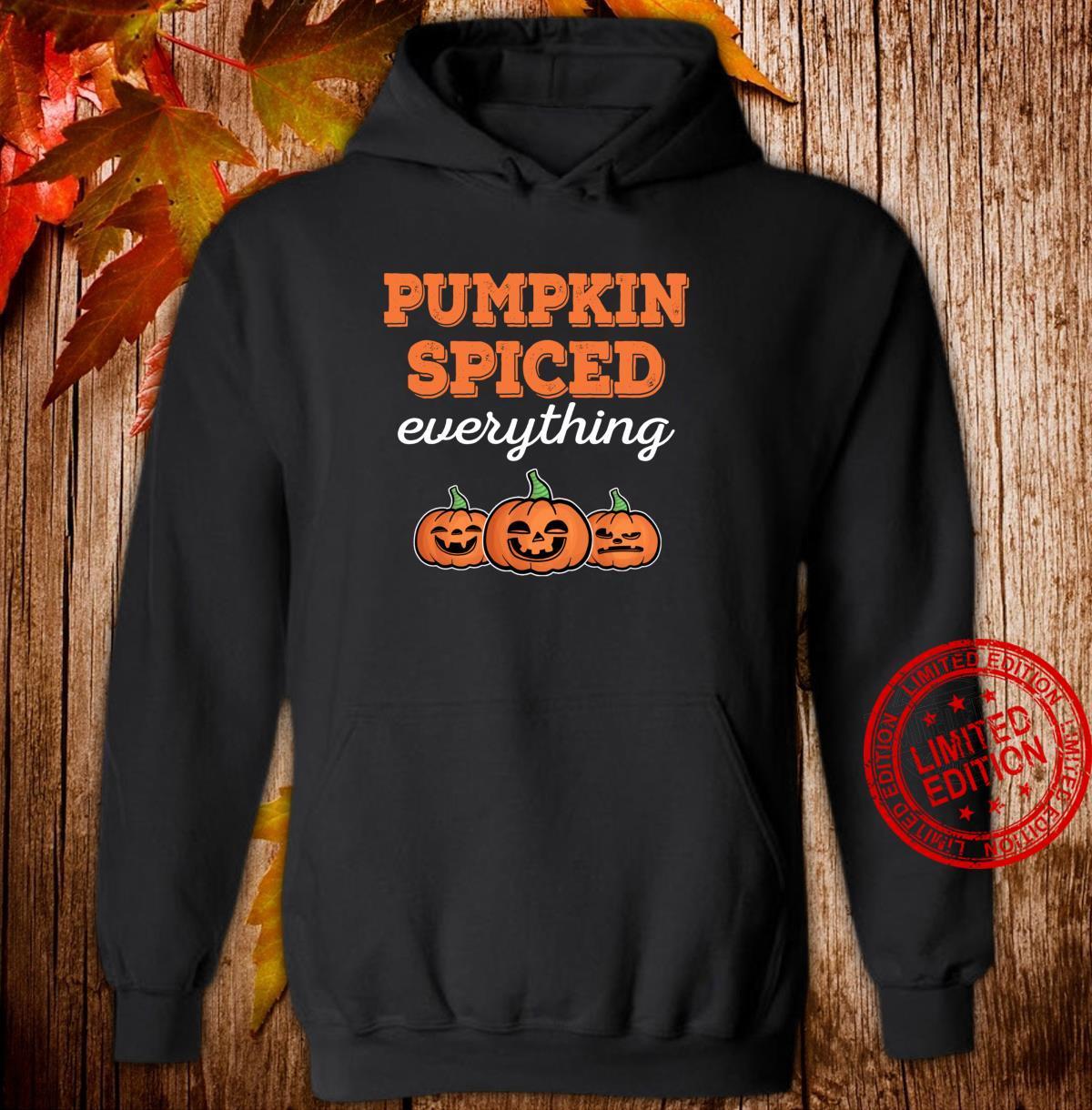 Funny Halloween Pumpkin Spiced Fall Season Thanksgiving Shirt hoodie