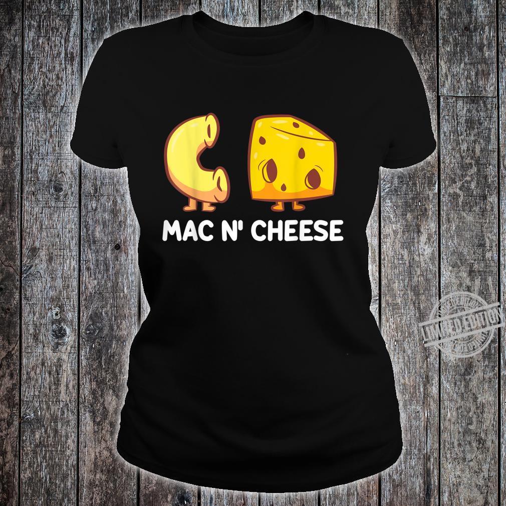 Funny Mac'n Cheese Love Mac And Cheese Shirt ladies tee