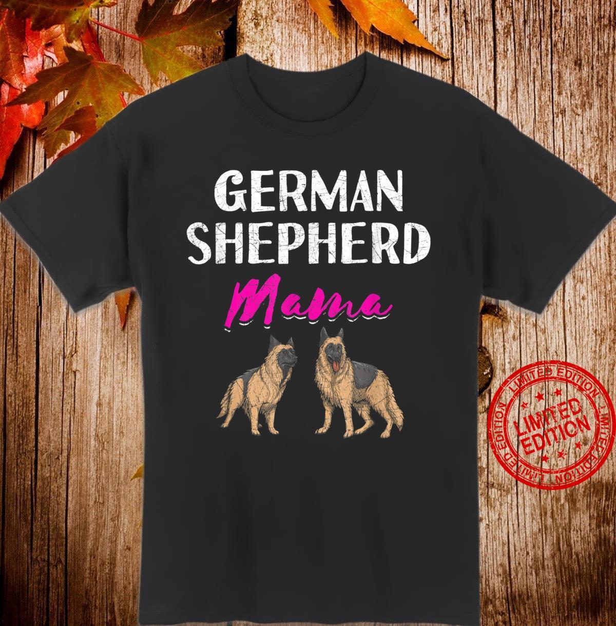 German Shepherd Mama German Shepherd Shirt