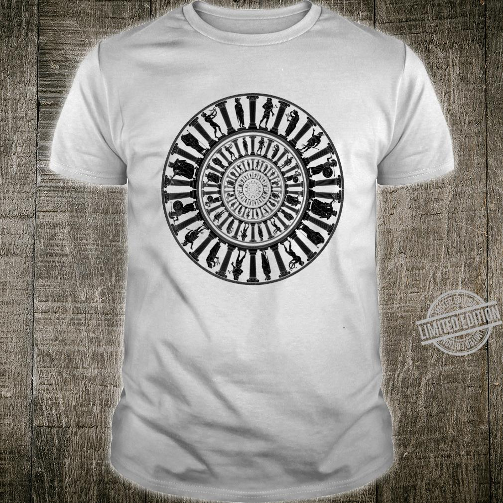 Greek Gods Vortex Ancient Greece Mythology Portal Shirt