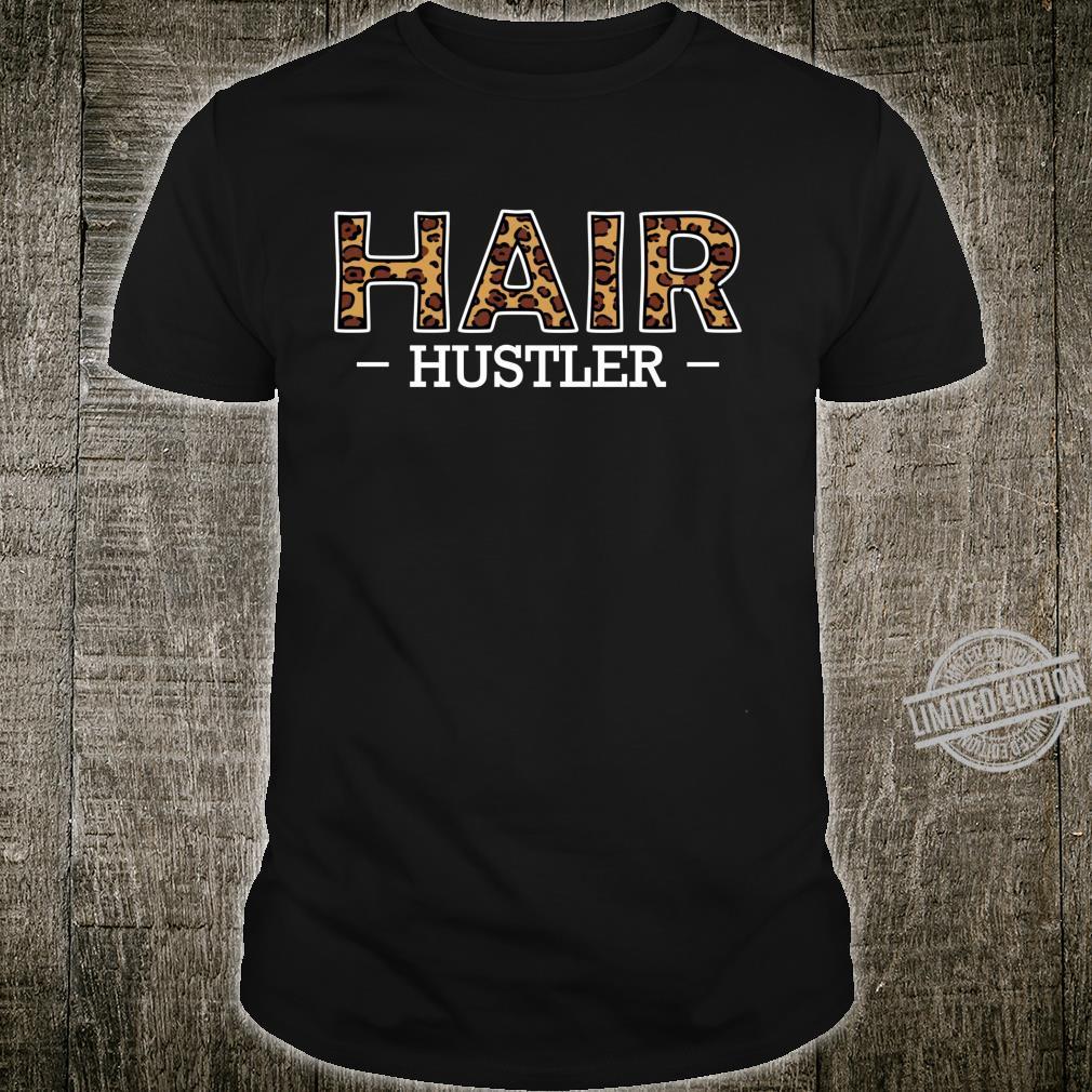 Hair Hustler Friseur Friseurin Coiffeur Fachkraft Lustig Langarmshirt Shirt