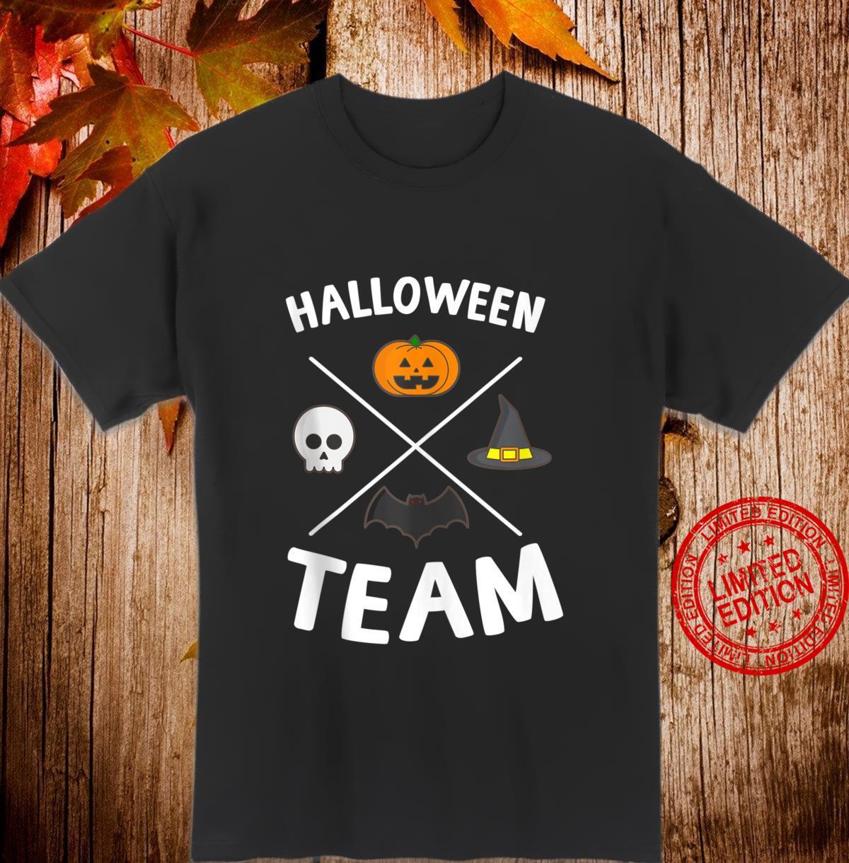 Halloween Team A Halloween Costume for the Family Shirt