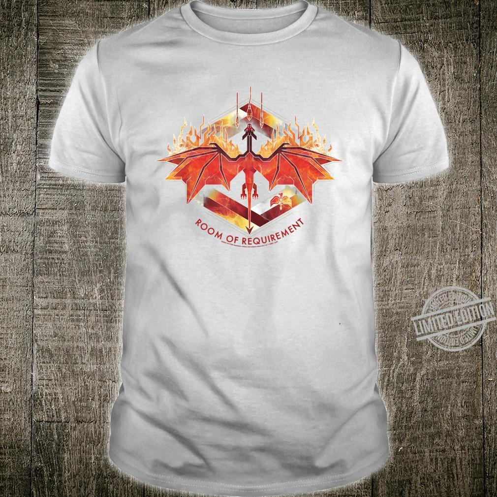 Harry Potter Room of Requirement Dragon Shirt