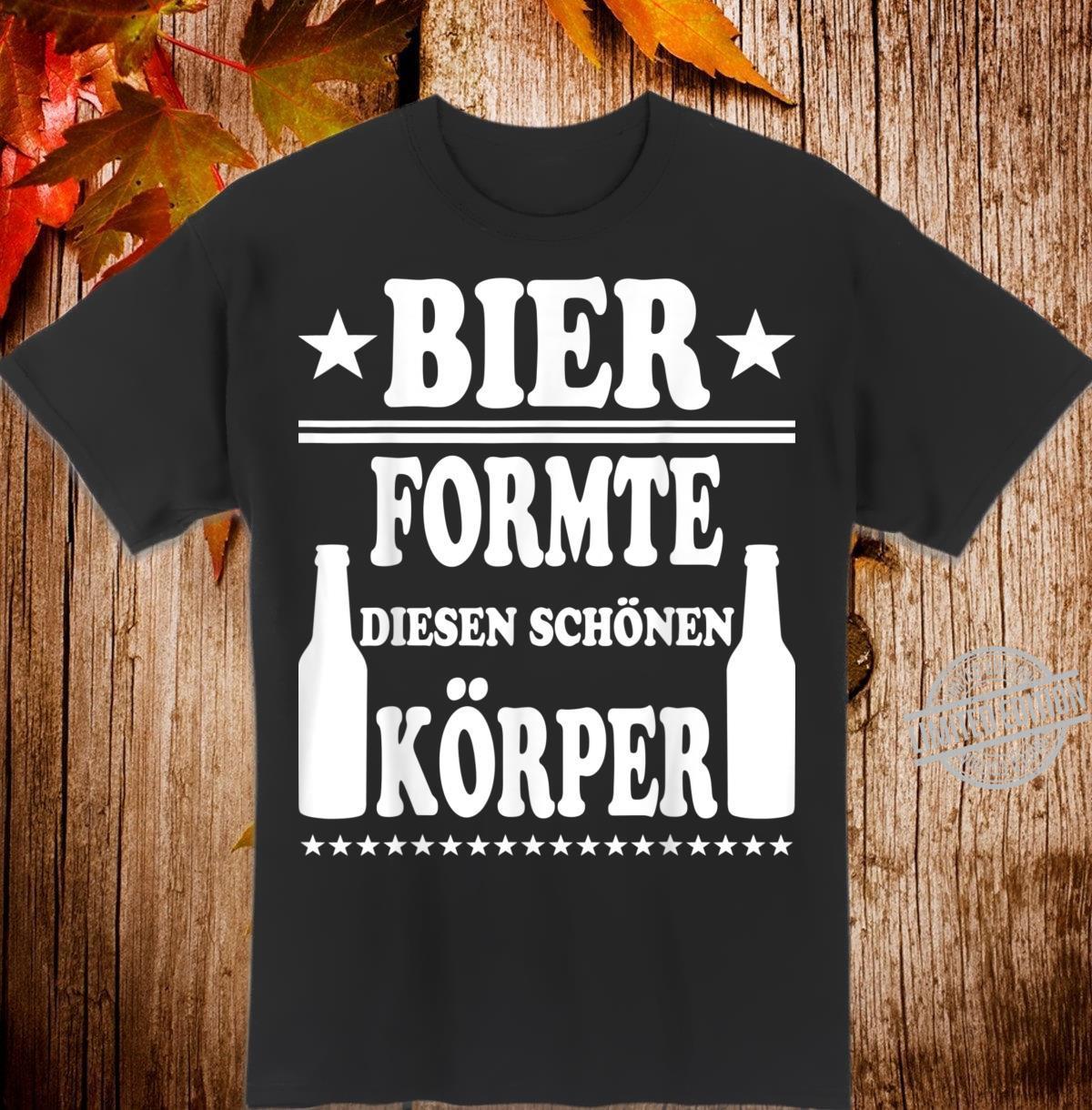 Herren Bier Körper Lustiger Spruch Alkohol Party Saufen Geschenk Shirt