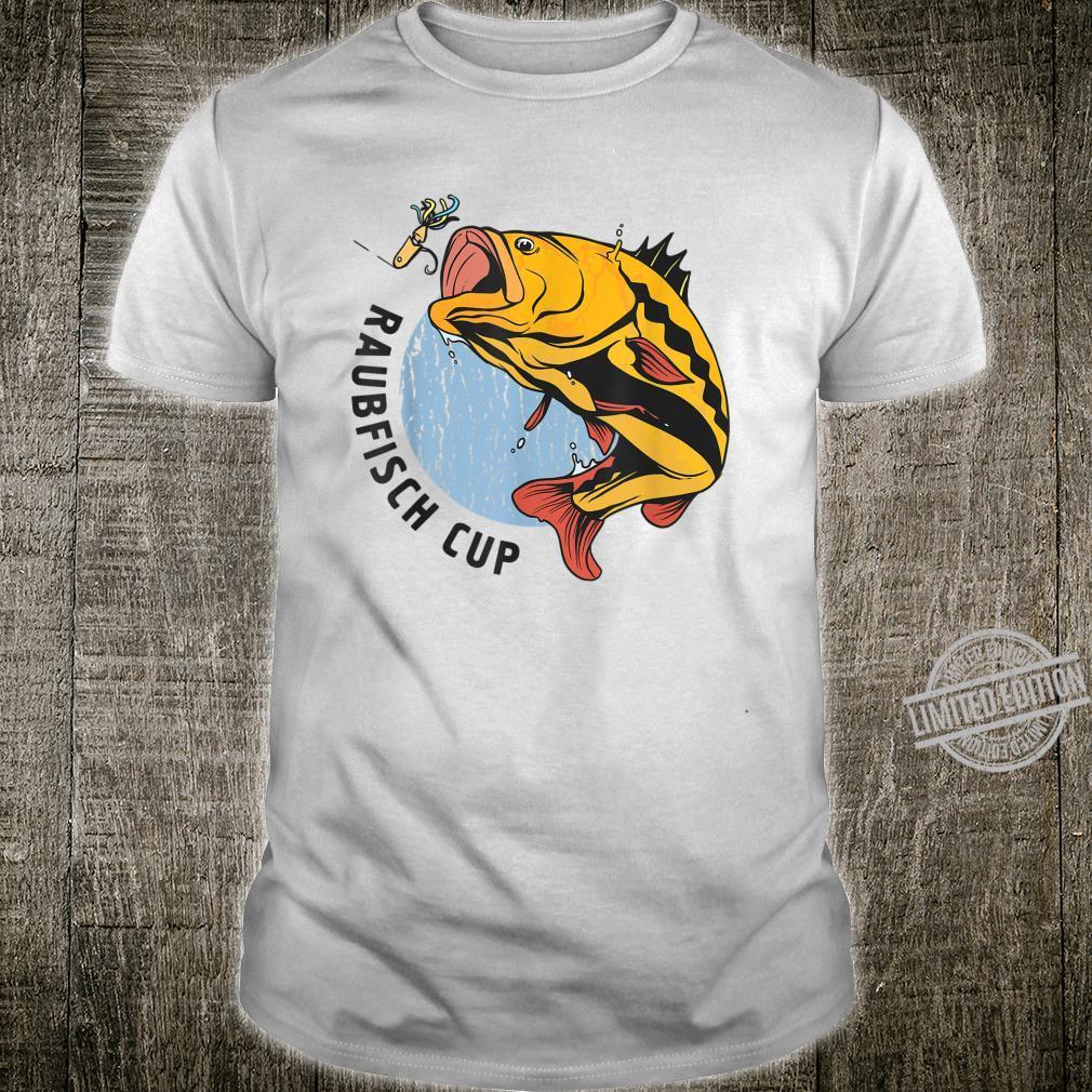 Herren Raubfisch Cup Herren Geschenkidee Shirt