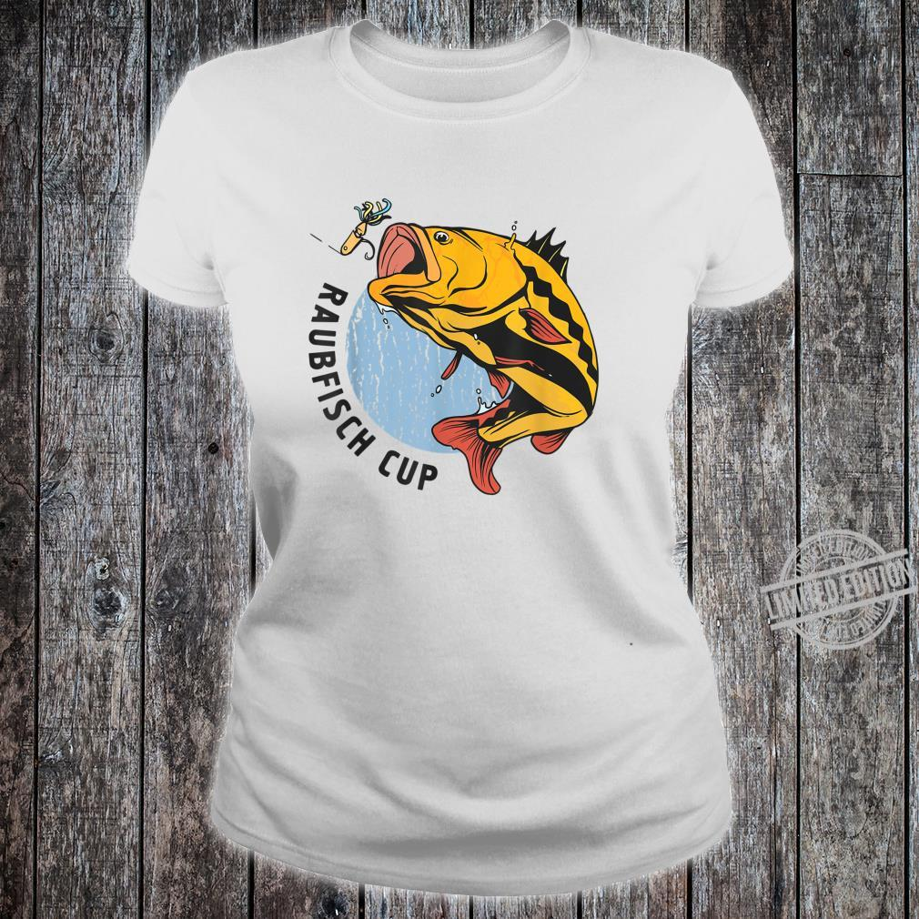 Herren Raubfisch Cup Herren Geschenkidee Shirt ladies tee