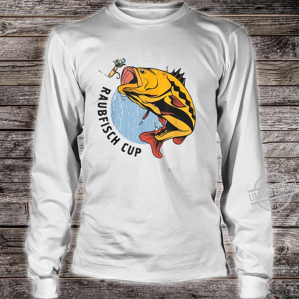 Herren Raubfisch Cup Herren Geschenkidee Shirt long sleeved