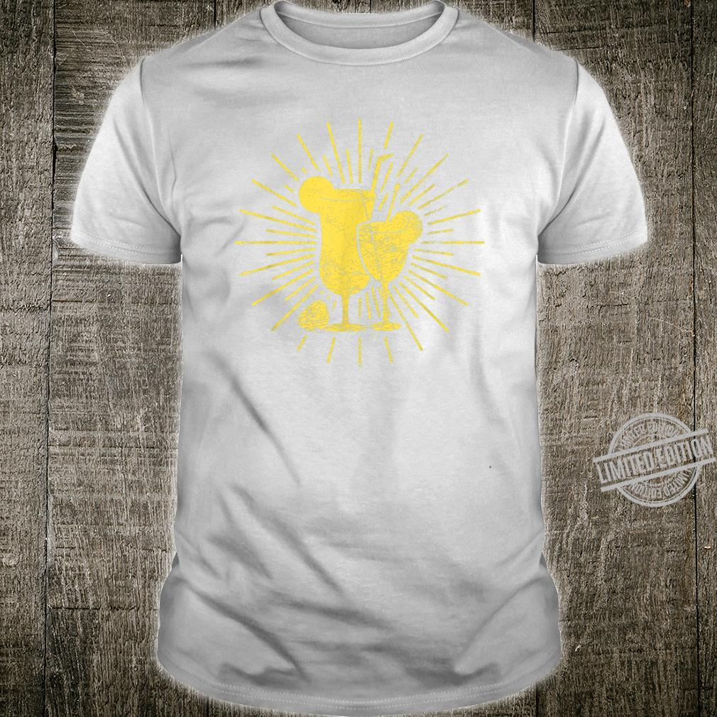 Herren Zitrusfrucht Limette Shirt