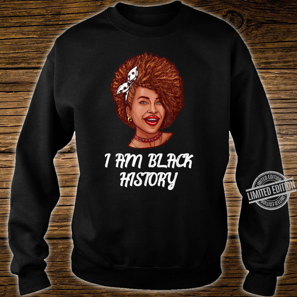 I Am Black History Month African American Black Queen Shirt sweater