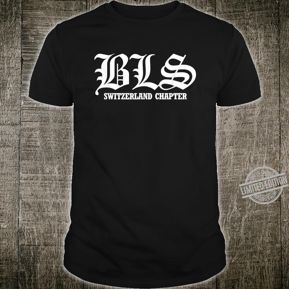 Men's Black Label Society Switzerland Chapter Shirt