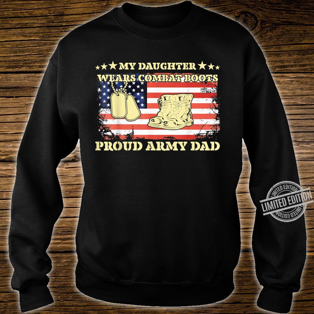 Mens My Daughter Wears Combat Boots Proud Army Dad, Father's Day Shirt sweater