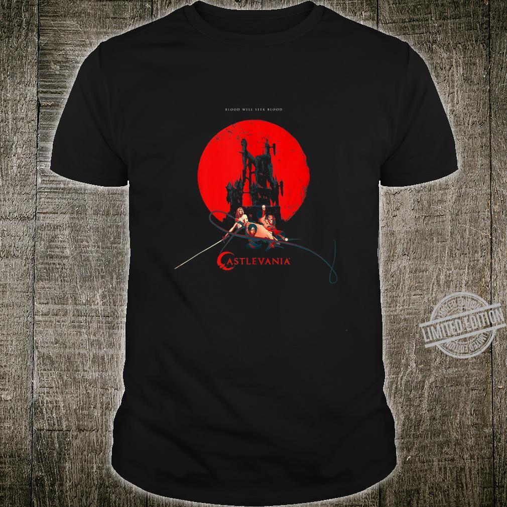 Netflix Castlevania Heroes Red Moon Shirt