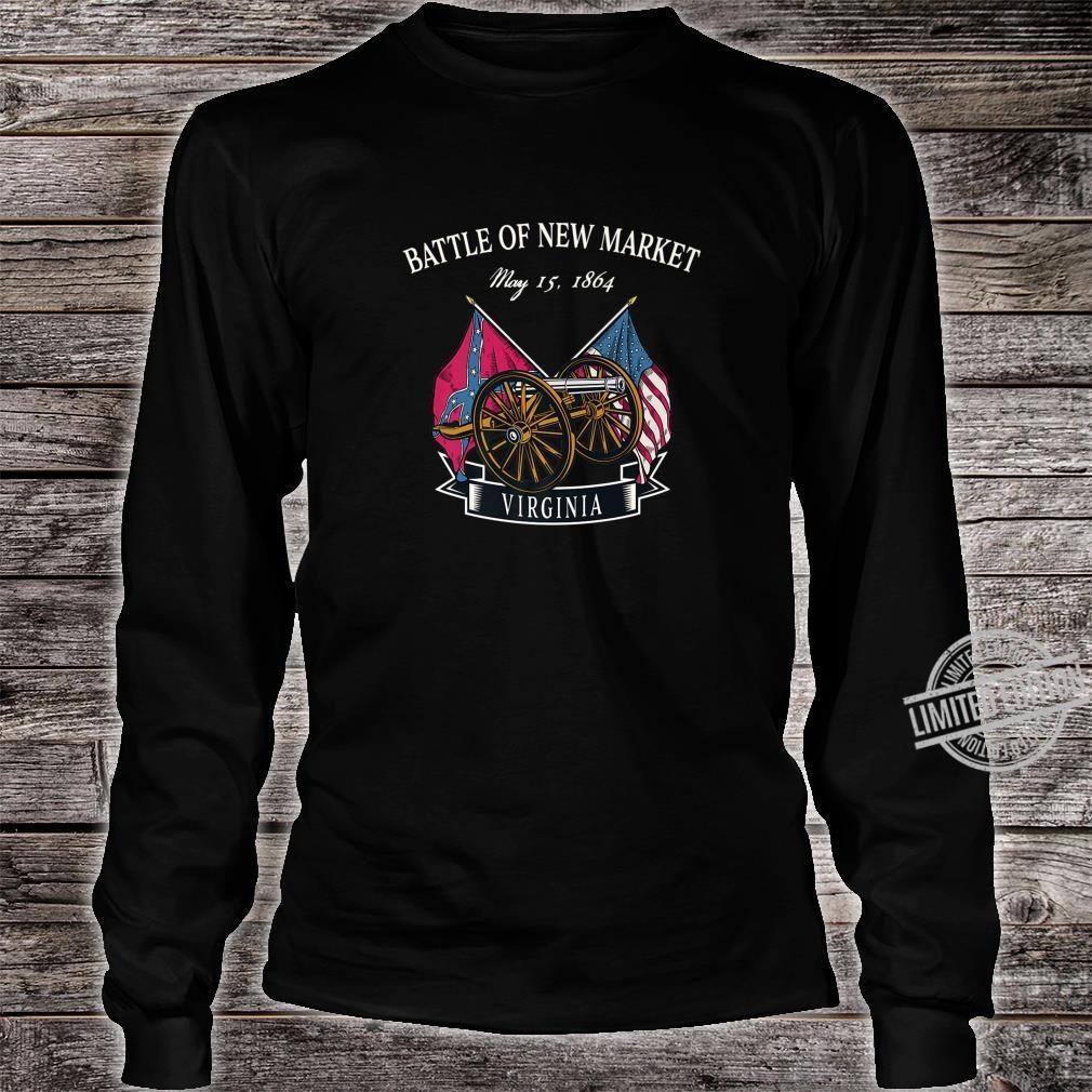 New Market Virginia Battlefield Shirt long sleeved