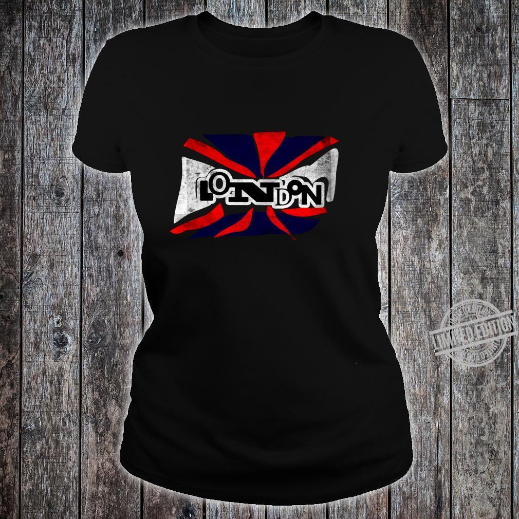 Punk London Union Jack Flagge für Männer Frauen Shirt ladies tee
