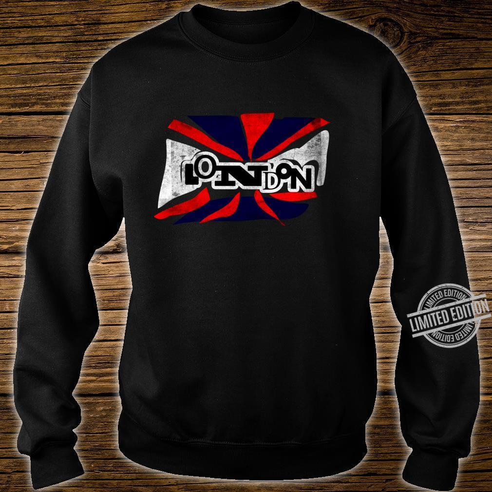 Punk London Union Jack Flagge für Männer Frauen Shirt sweater