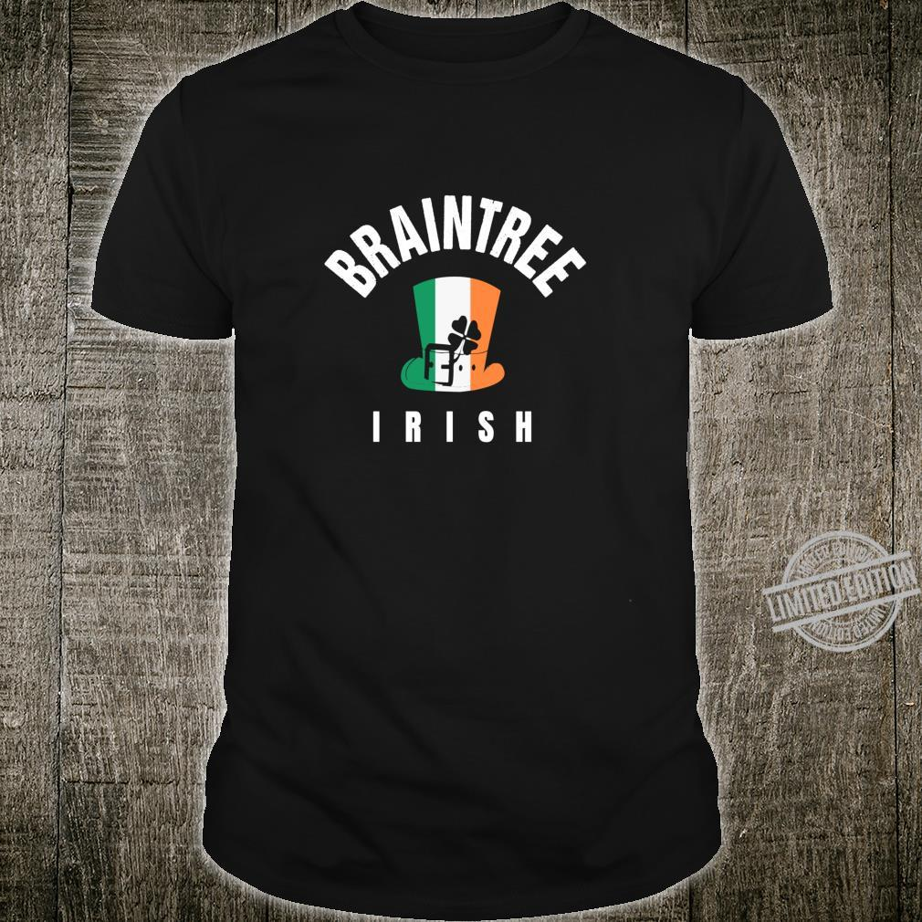 St Patricks Green Braintree MA Hat Irish Saint Pattys Lucky Shirt