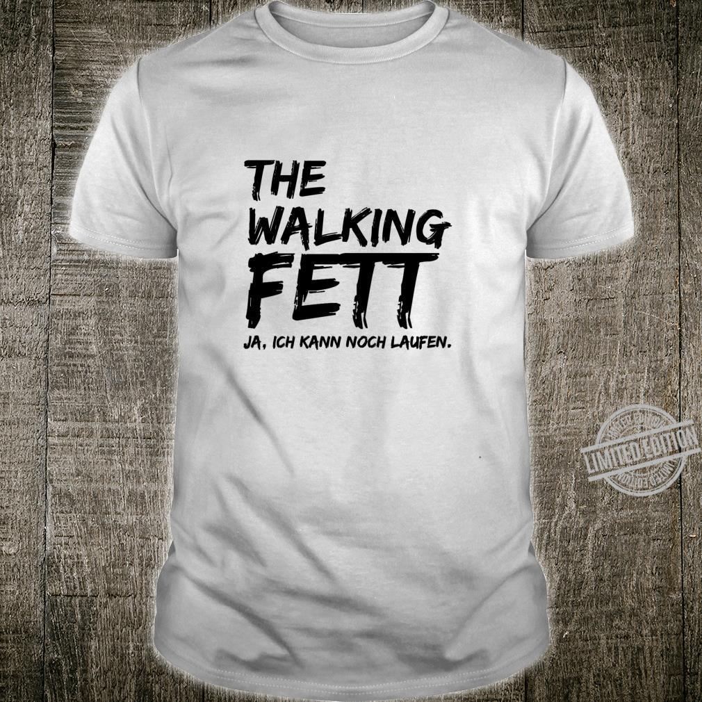 The walking fett ja ich kann noch laufen lustiges fun hype Langarmshirt Shirt